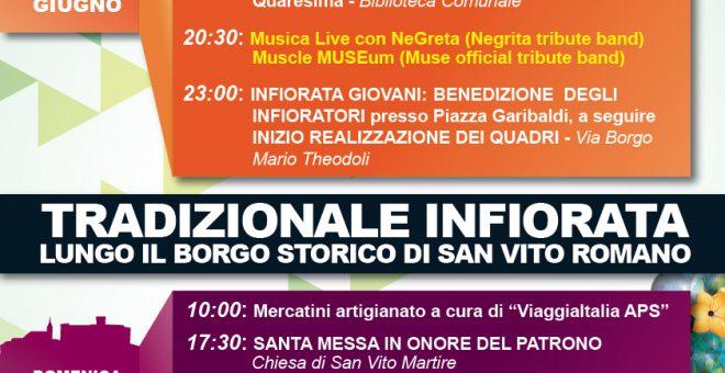 Festeggiamenti San Vito Martire – 18 e 19 Giugno 2016